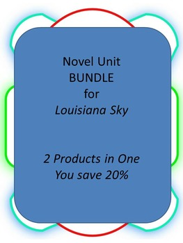 BUNDLE: My Louisiana Sky 2 Products in 1