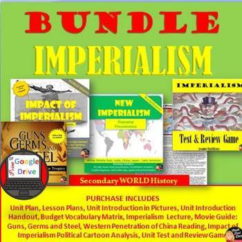 Imperialism BUNDLE (Secondary World History) (Common-Core