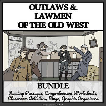 BUNDLE - OUTLAWS AND LAWMEN OF THE WILD WEST