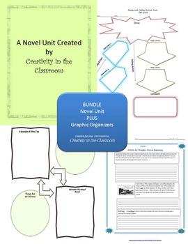 BUNDLE: Out of My Mind Novel Unit Plus Grammar AND Graphic