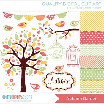 CLIPART BUNDLE - Seasons / Autumn Garden