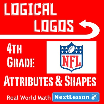 BUNDLE – Performance Task – Attributes of Shapes – Logical Logos