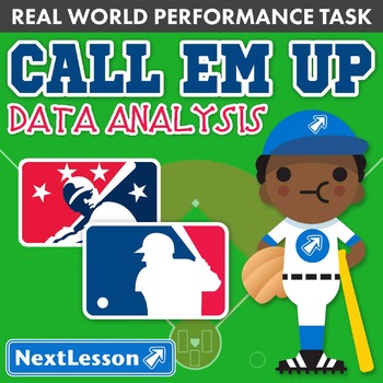 BUNDLE - Performance Task – Data Analysis – Call Em Up