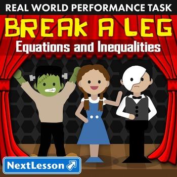 BUNDLE - Performance Task – Equations & Inequalities – Bre