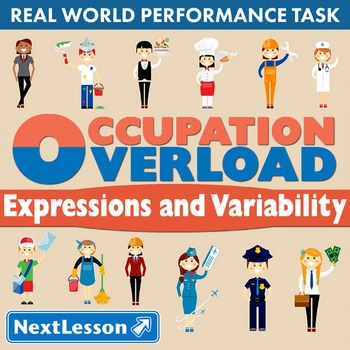 BUNDLE - Performance Task – Expressions & Variability – Oc