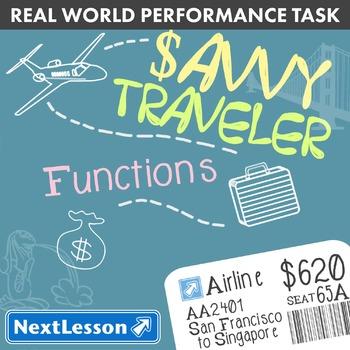 BUNDLE - Performance Task – Functions – Savvy Travelers