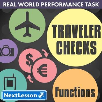 BUNDLE - Performance Task – Functions – Traveler Checks
