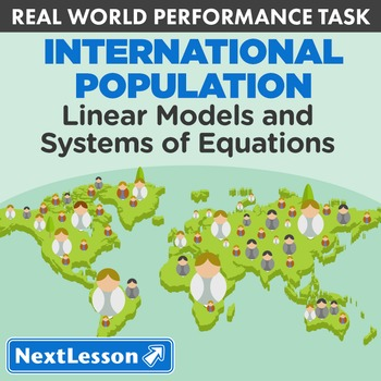 BUNDLE - Performance Task – Linear Models & Systems – Inte