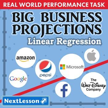 BUNDLE - Performance Task – Linear Regression – Big Busine