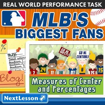 BUNDLE - Performance Task – Measures of Center – MLB's Big