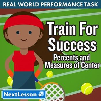 BUNDLE - Performance Task – Percent & Measures of Center –