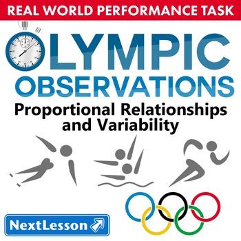 BUNDLE - Performance Task – Proportional Relationships – O