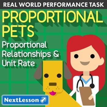 BUNDLE - Performance Task – Proportional Relationships – P