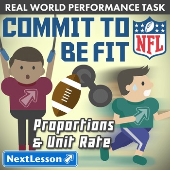 BUNDLE - Performance Task – Proportions & Unit Rate – Comm