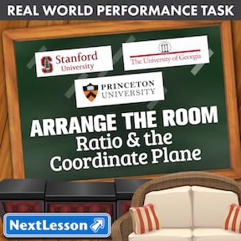 BUNDLE- Performance Task- Ratio & the Coordinate Plane- Ar