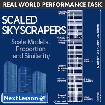 BUNDLE - Performance Task – Scale Model, Proportion – Scal