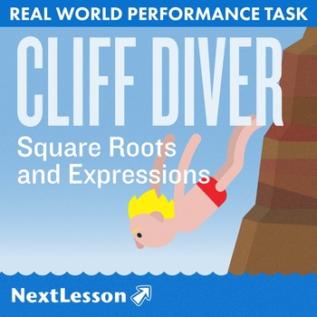 BUNDLE - Performance Task – Square Roots and Expressions –