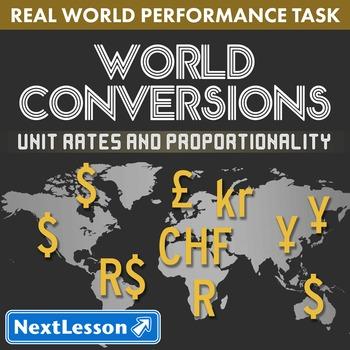 BUNDLE - Performance Task – Unit Rates & Proportionality –