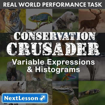 BUNDLE - Performance Task – Variable Expressions  – Conser