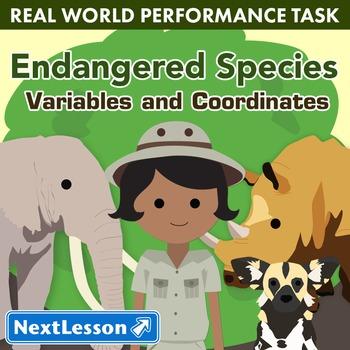 BUNDLE- Performance Task – Variables & Coordinates – Endan