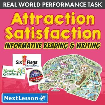 BUNDLE - Performance Tasks - Informative Writing – Attract