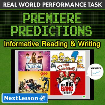 BUNDLE - Performance Tasks – Informative Writing – Premier