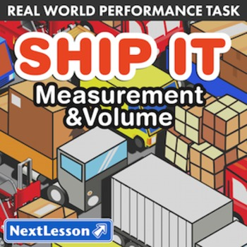 BUNDLE – Performance Tasks – Measurement & Volume – Ship It