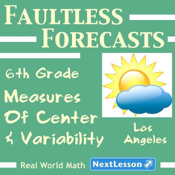 BUNDLE – Performance Tasks – Variability - Faultless Forecasts