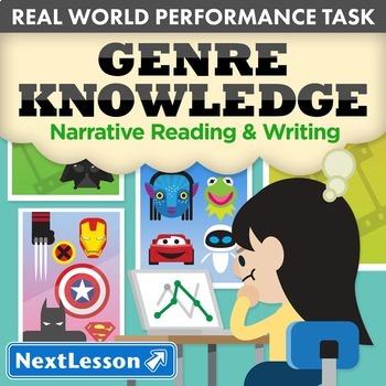 BUNDLE - Performance Tasks – Narrative Reading & Writing –