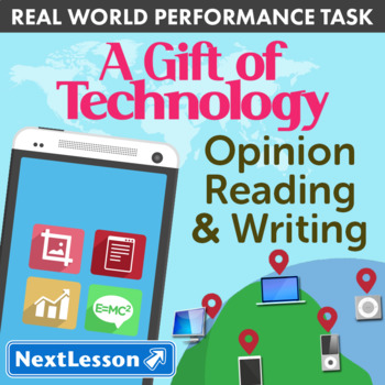 BUNDLE - Performance Tasks - Opinion Reading – A Gift of T