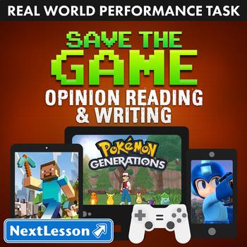 BUNDLE - Performance Tasks - Opinion Reading & Writing - S