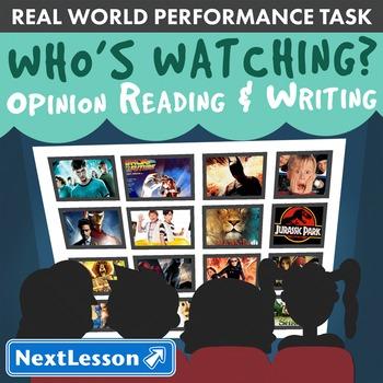 BUNDLE - Performance Tasks - Opinion Reading & Writing – W