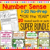 Number Practice Printables - Recognition Tracing Counting