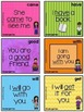 BUNDLE 92 PreK-Kindergarten Sight Word (Dolch) Flash Cards