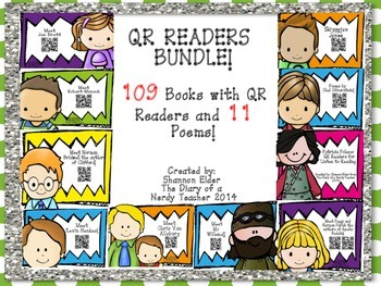 BUNDLE QR Readers for Listen to Reading