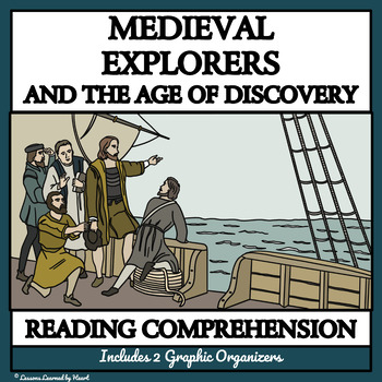 BUNDLE READING COMPREHENSION: Medieval Explorers and the A
