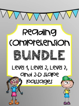 BUNDLE - Reading Comprehension Passages