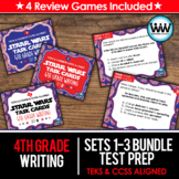 BUNDLE - STAAR WARS 4th Grade Writing Task Cards ~ SETS 1-3