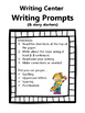 Monthly Writing Prompts **BUNDLE!** {September-January}