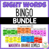New Zealand Sight Words - Sight Word BINGO - Magenta to Or