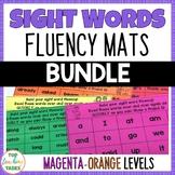 New Zealand Sight Words - Sight Word Fluency Mats - Magent