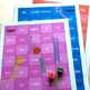 New Zealand Sight Words - Snakes and Ladders - Magenta to