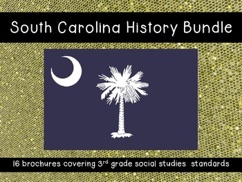 South Carolina History Brochures BUNDLE