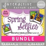 BUNDLE: Spring Selfies {Interactive Melody Game}