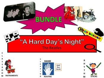 """BUNDLE: The Beatles: """"A Hard Day's Night"""" G2-5"""
