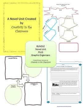BUNDLE: The Westing Game Novel Unit Plus Grammar AND Graph