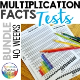 Multiplication test bundle: 10s & 12s (Time-saving with no