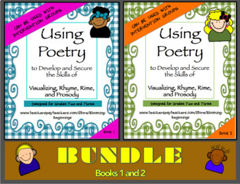 BUNDLE: Using Poetry to Develop Visualizing, Rhyme, Rime,