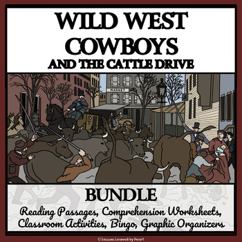 BUNDLE - WILD WEST COWBOYS AND THE CATTLE DRIVE