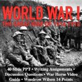 WWI World War I The Great War 1914-1918 Reading Writing Ac